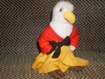 Washii Eagle Plush Toy From - The Three Kings Book written by Allie Alberigo
